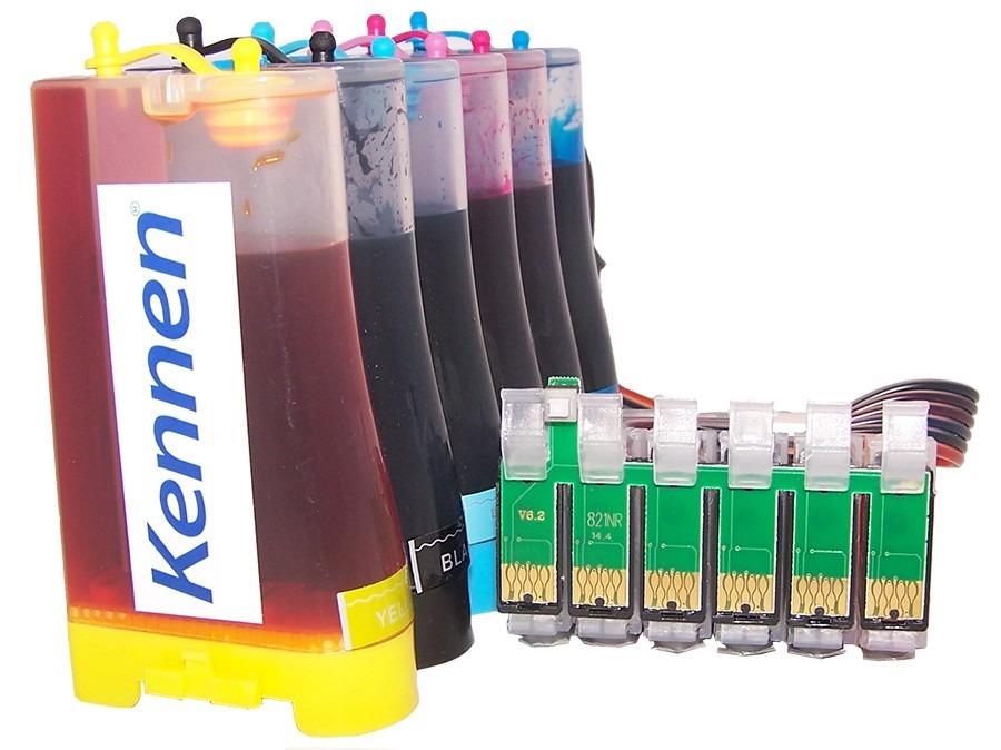 Cartuchos Recargables para HP 7110 con Tinta OCP Pigmentada